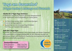 Lisa Fally | Yoga am Bauernhof